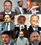Die neun bestätigten Minister. Foto: Pajhwok.