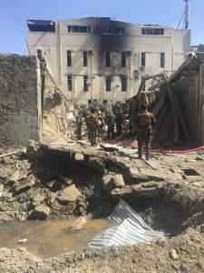 Die Szene in der Kabuler Neustadt nach dem Angriff vom 6. September 2016. Foto: Abdullah Rahmani/Twitter